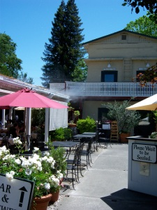 The Calistoga Inn, one of the best spots in north Napa Valley.