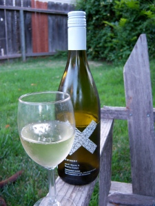 The new White X white blend from X Winery.